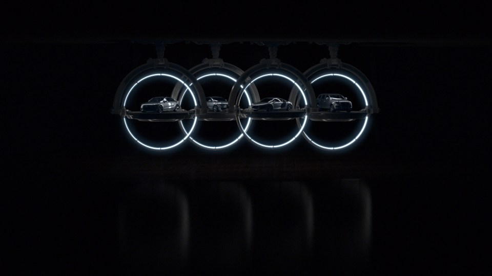 "Audi ""Beauty in Engineering"""