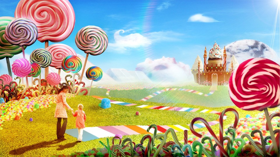 candy world wallpaper - photo #11