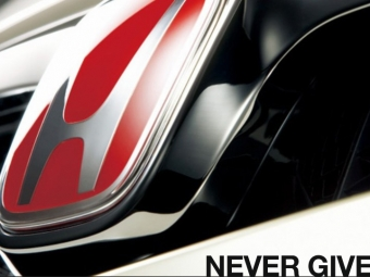 "Honda ""Never Give Up"""