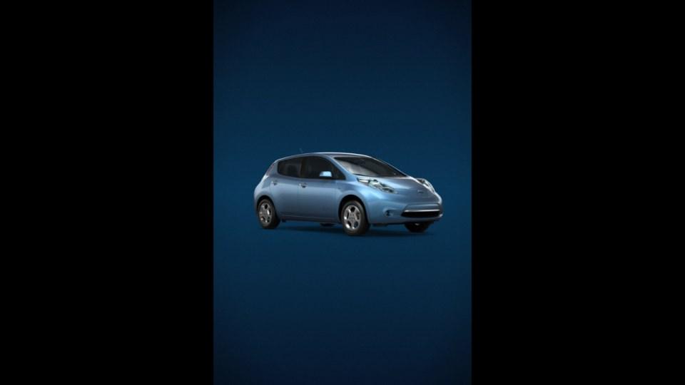 """Nissan Leaf """"iAd"""""""