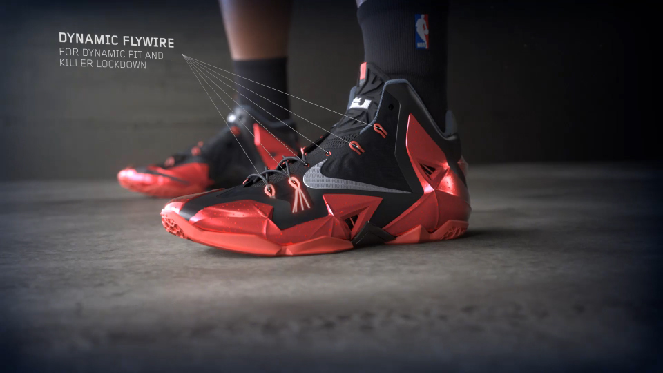 "Nike's LeBron 11 ""Tunnel"" Launch Video"
