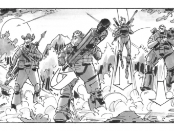 """Evolve"" Storyboards"