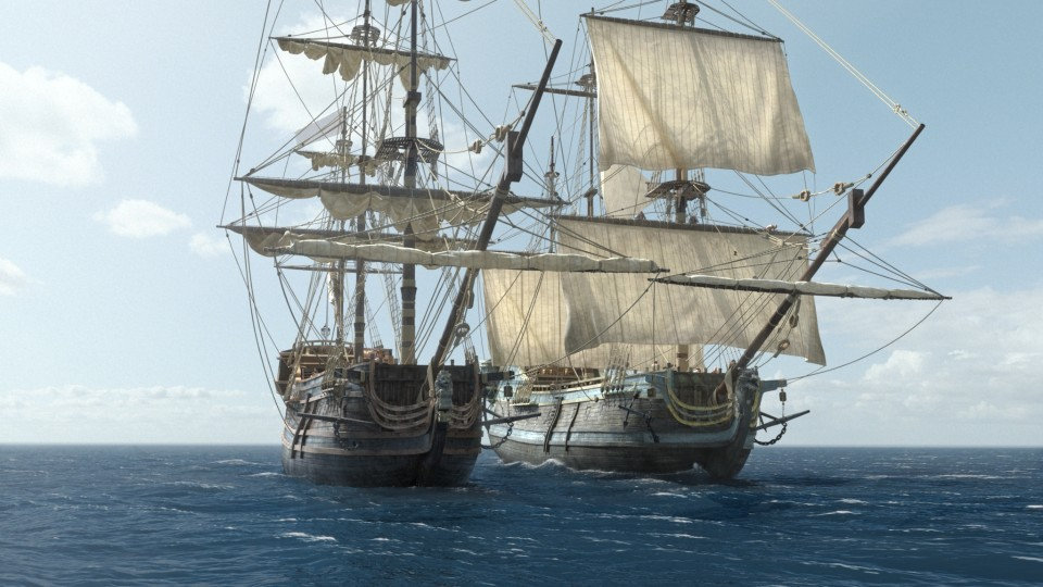 """Black Sails"" Season 2 Visual Effects"