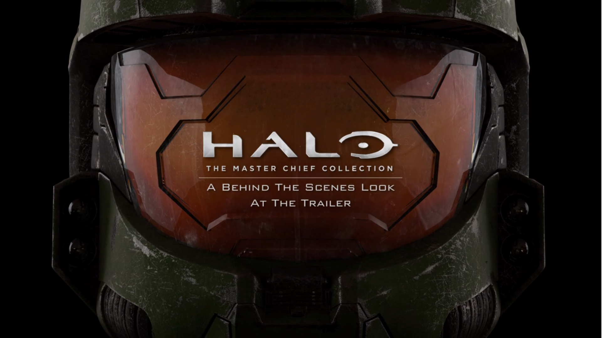 "Halo ""The Master Chief Collection"" Trailer. A behind the scenes look."