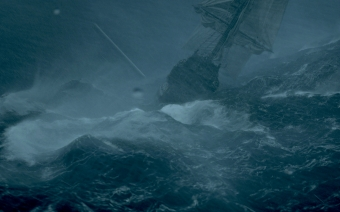 """""""Black Sails"""" Episode 302, the making of """"The Storm"""""""