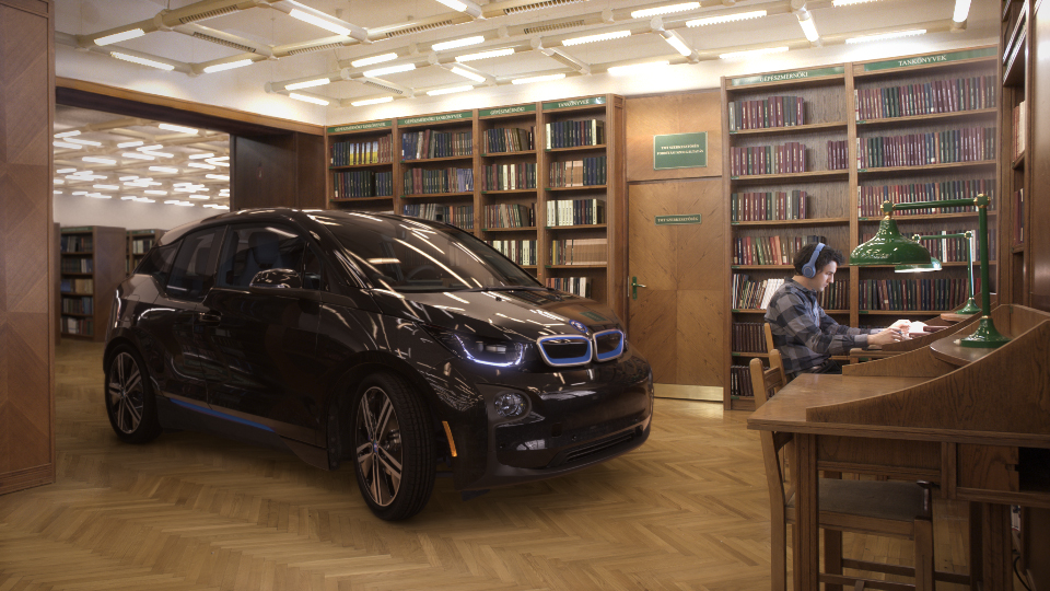 "BMW i3 ""Silent Performance"" Agency Edit"
