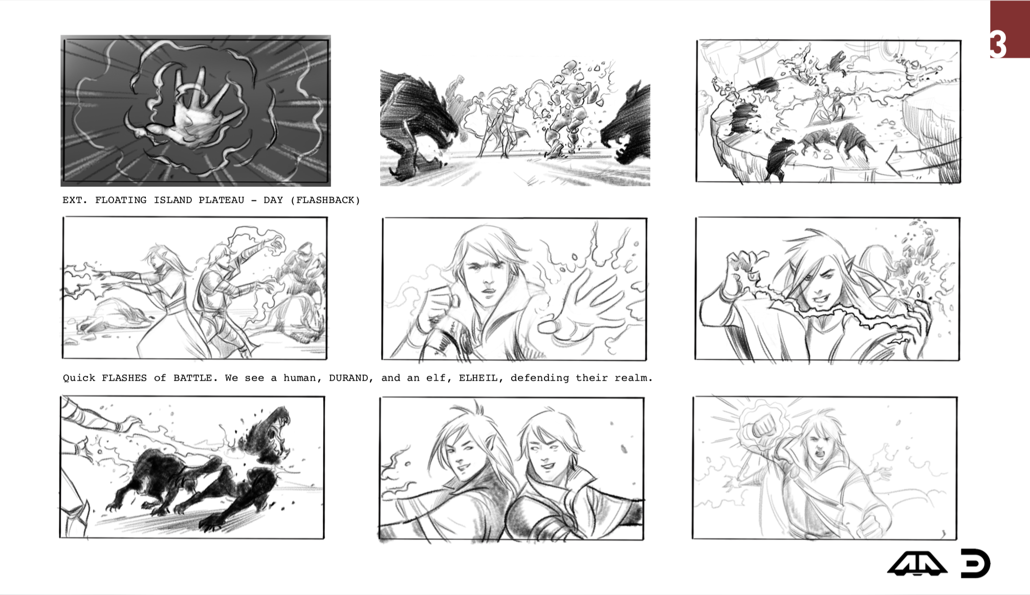 Summoners War Deck + Storyboards